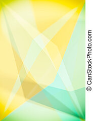 Triangular shapes, colorful geometric abstract background