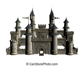 Castle - Illustration of a castle