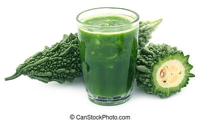 Herbal juice of green momodica
