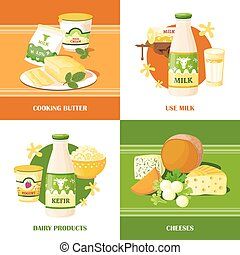 Milk And Cheese 2x2 Design Concept - Milk and cheese 2x2...