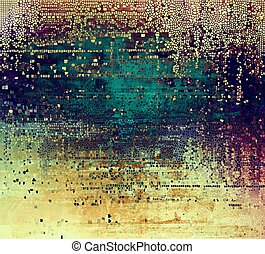 Colorful grunge background, tinted vintage style texture...
