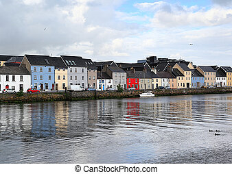 Galway, Ireland - The city of Galway in western Ireland