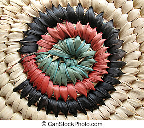 African Basket Design 2
