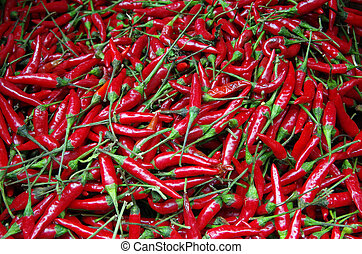 Red hot chili peppers deail - Red hot chili peppers awaiting...