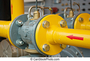 pipe line - transfer oil and gas to main pipe line