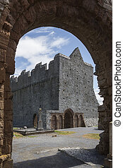 Ardfert Cathedral - County Kerry - Ireland - The ruins of...