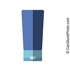 Bottle of cream icon Spa center design Vector graphic - Spa...