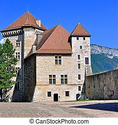Annecy castle, Haute Savoie, France