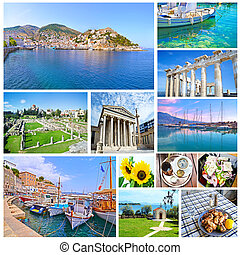 collage of Greece
