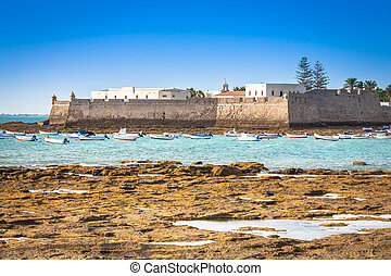 San Sebastian Castle, Cadiz, Spain