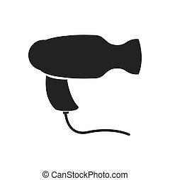 Dryer icon. Haircare design. Vector graphic - Haircare...
