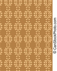 Seamless wallpaper pattern of antique elements-2
