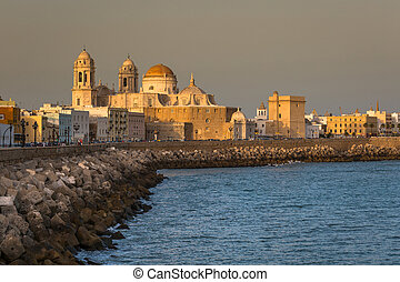 Cathedral of Cadiz, Andalucia, Spain.