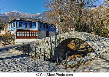 village of Moushteni near Kavala - Old house in village of...