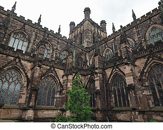 Chester Cathedral in Chester - Chester Anglican Cathedral...