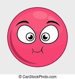 Cartoon face icon Expression design Vector graphic - Cartoon...
