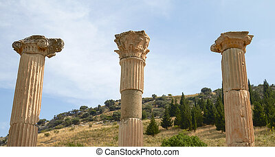 Ancient Ruins and Remains in Ephesus Turkey Ephesus Contains...