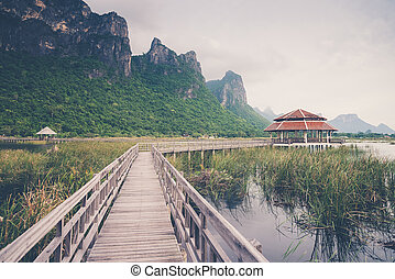 Sam Roi Yod National Park, Prachuap Khiri Khan, Thailand...