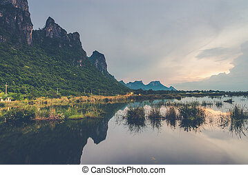Sam Roi Yod National Park, Prachuap Khiri Khan, Thailand...