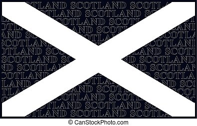 Scottish Saltire National Flag - Scottish Saltire national...