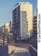Tokyo, Japan Sumida  cityscape.