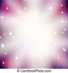 abstract background with glittering stars