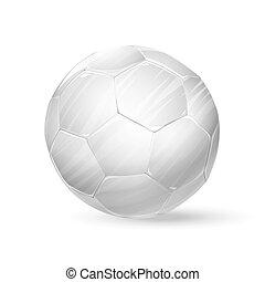 football white ball soccer ball illustration