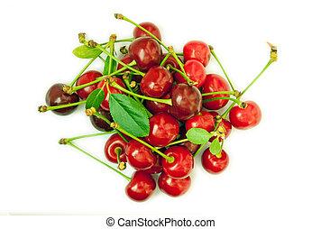 Cherries - isolated