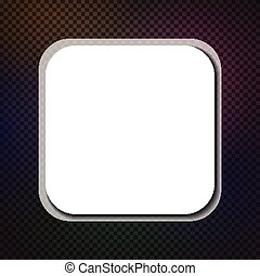Abstract square background Vector paper illustration