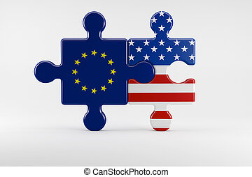Symbol of good relations between USA and the EU