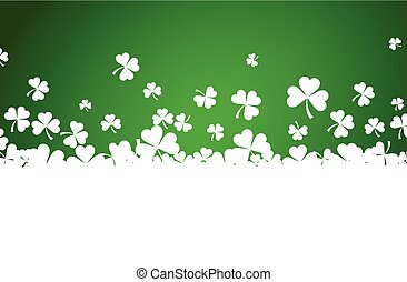 St. Patrick's day background. - St. Patrick's day background...