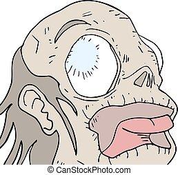 monster head - Creative design of monster head