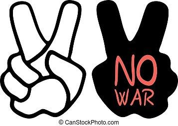 No war symbol