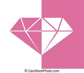 original pink diamond symbol