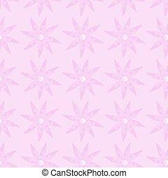 pink spring flowers seamless