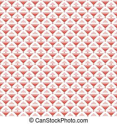 Seamless pattern of different sized triangles and small...