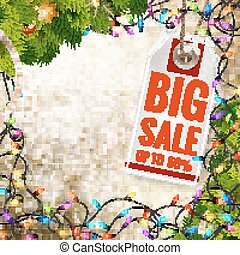 Christmas sale. EPS 10