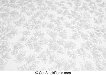 Closeup of snow or ice crystals