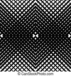 Mesh-grid pattern with crossing diagonal lines geometric...