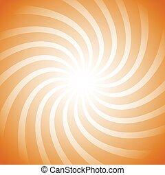 Spiral, vortex starburst, sunburst colorful background Easy...