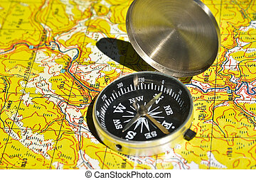 Map and compass - the tools for navigation The magnetic...