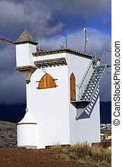 Small watchtower - Small Watchtower on the Canary Island La...