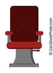 hair salon chair icon