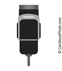 electric hair clipper icon