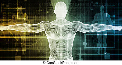 Medical Scan System and Body Screening Checkup