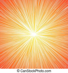 Sun Burst Blast Background - Sun Burst Blast Speed Line...