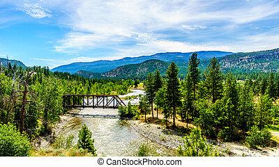 Truss Bridge over the Nicola River along Highway 8 between...