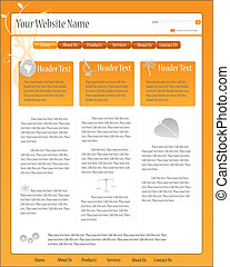 Web Template - Full web template