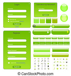 Web Forms and Template