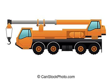 Truck crane Illustrations and Clip Art. 4,894 Truck crane royalty ...